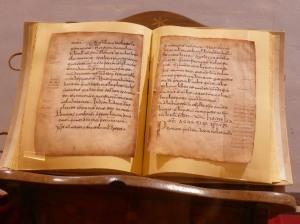 Reproducción del códice latino. El original está en la Biblioteca de la Real Academia de la Historia.